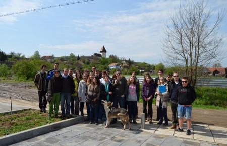 Freiwillige beim Planungstreffen des Jugendtags 2014 in Holzmengen